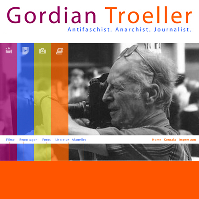 Gordian Troeller - Antifaschist, Anarchist, Journalist